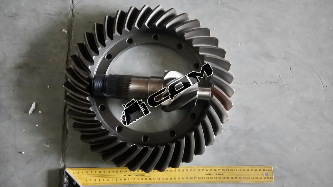 Коническая пара 37/7 редуктора переднего моста CDM855 LGQ856AL.03-005/006