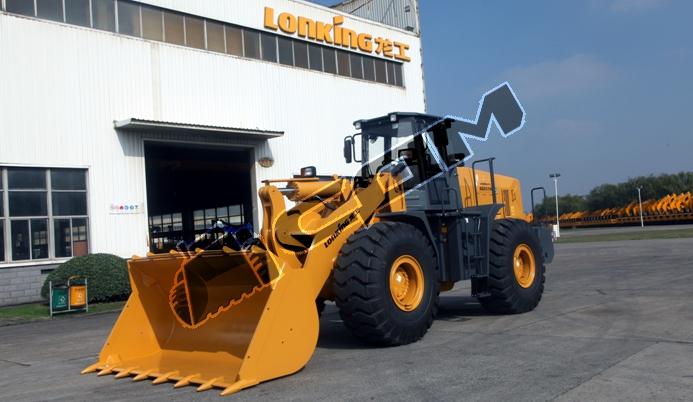 Фронтальный погрузчик Lonking LG863N